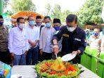 Kang Akur resmikan Gedung Kantor Desa Sukamandi Sagalaherang