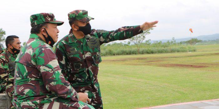 Asops Kasau bersama Pangkoopsau I Menyaksikan Pengujian Elevated Heliport di Lanud Suryadarma