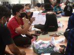 Pelipatan surat suara Pilkada Kabupaten Bandung 2020.