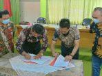 penanda tanganan MOU PT Pupuk Kujang dengan BUMD PT SS dan BUMDES