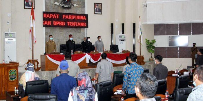 Rapat Paripurna DPRD Subang