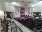 Suasana Rapat Paripurna DPRD Subang