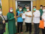 Mantan Gubernur Jabar Aher Hadiri Vaksinasi di Subang